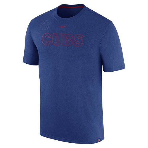 Men's Nike Chicago Cubs Logo Legend Dri-FIT Lightweight Tee