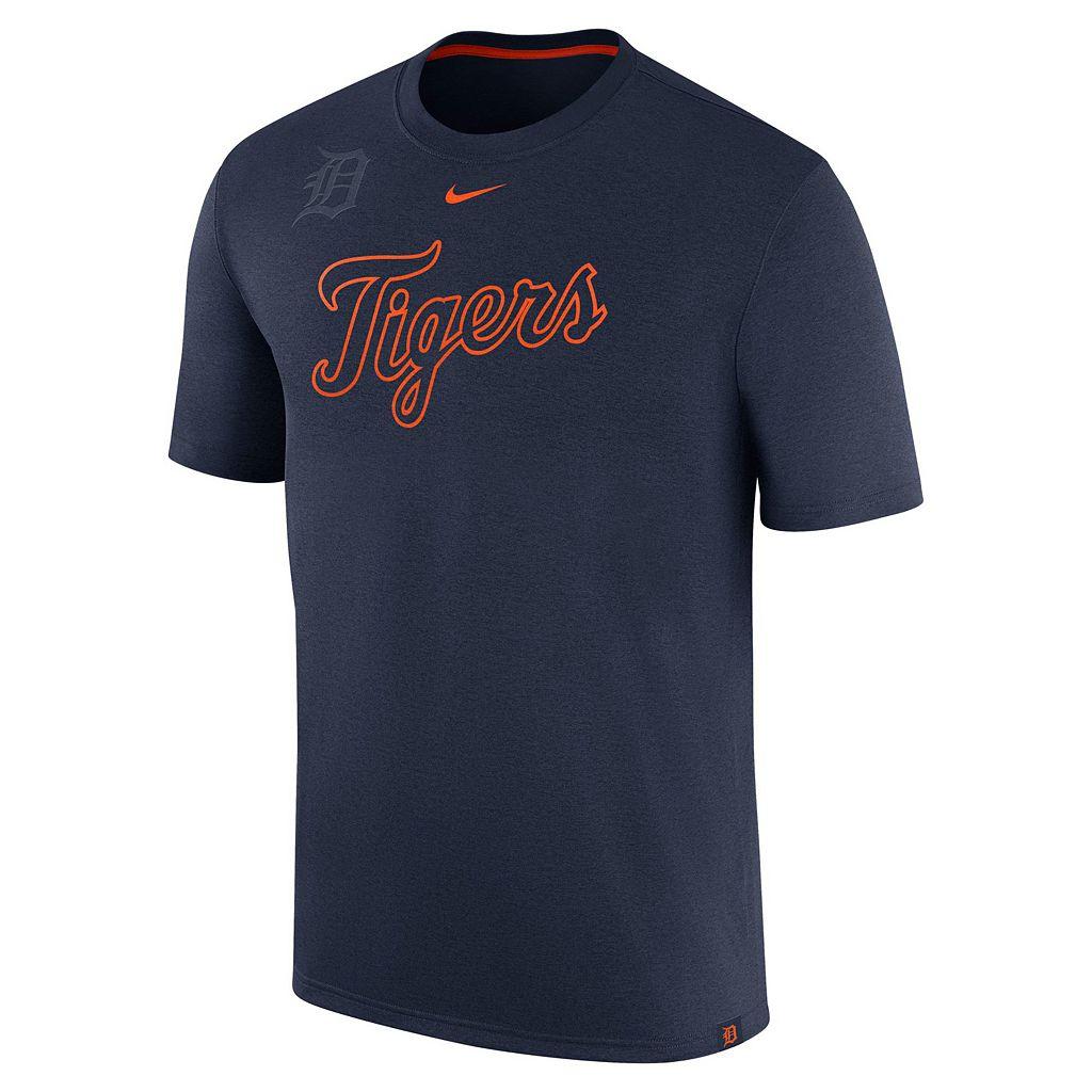 Men's Nike Detroit Tigers Logo Legend Dri-FIT Lightweight Tee