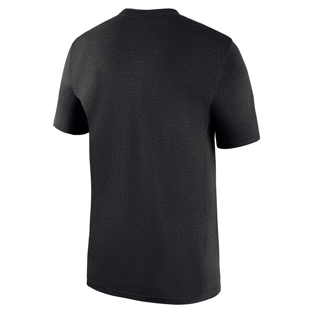 Men's Nike Miami Marlins Logo Legend Dri-FIT Lightweight Tee