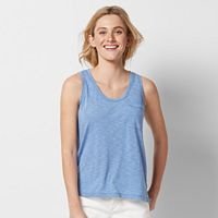 Women's SONOMA Goods for Life™ Solid Scoopneck Tank