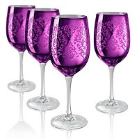 Artland Brocade 4-pc. Wine Glass Set