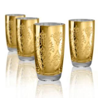 Artland Brocade 4-pc. Highball Glass Set