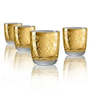 Artland Brocade 4-pc. Double Old-Fashioned Glass Set