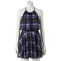 Juniors' Candie's® Print Halter Dress