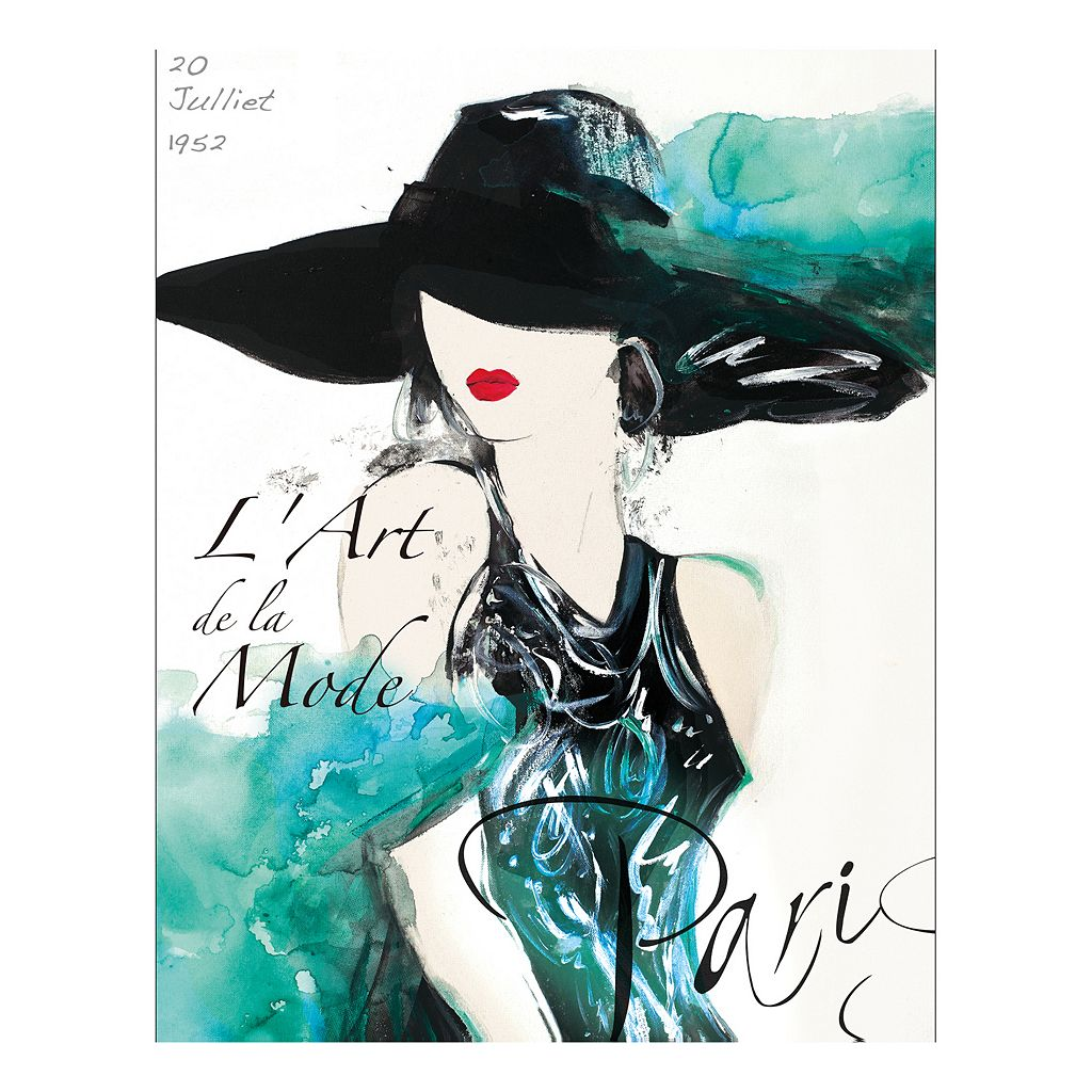 Collections 20 Juillet 1952 Canvas Wall Art