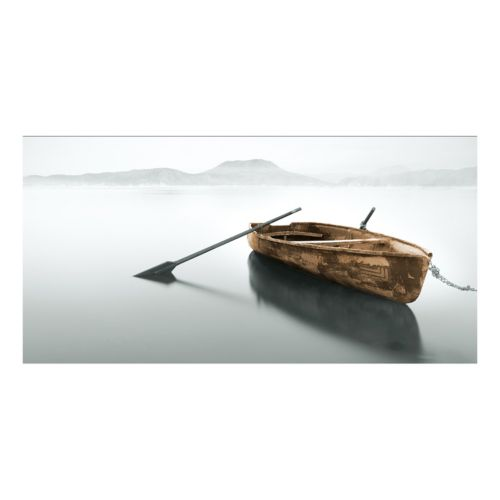 Copper Rowboat Canvas Wall Art