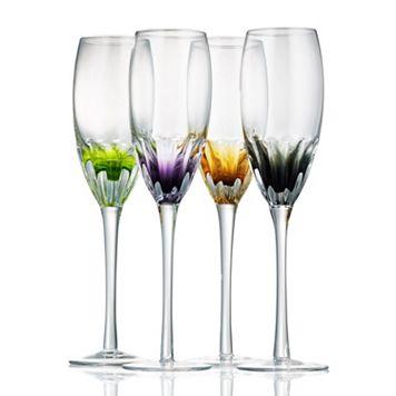 Artland Solar 4-pc. Champagne Flute Set