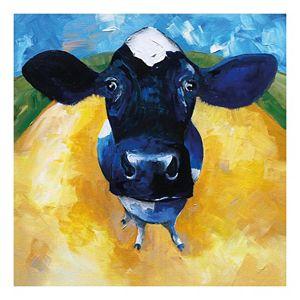 Cow Tale Canvas Wall Art
