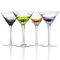 Artland Solar 4-pc. Martini Glass Set
