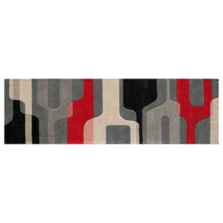 Momeni Delhi Retro Geometric Wool Rug