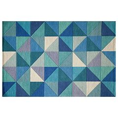 Momeni Delhi Diamonds Geometric Wool Rug