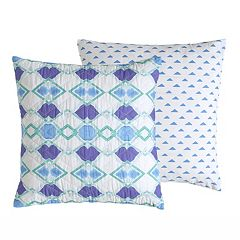 Amy Sia Pastel Diamond Square Throw Pillow