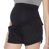 Maternity a:glow Belly Panel Soft Shorts