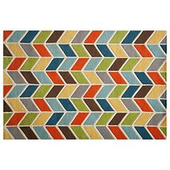 Momeni Delhi Chevron Arrow Wool Rug
