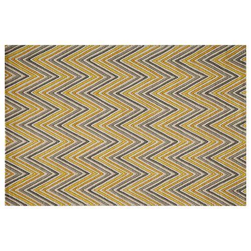 Momeni Delhi Zigzag Chevron Wool Rug