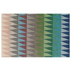 Momeni Delhi Triangle Geometric Wool Rug