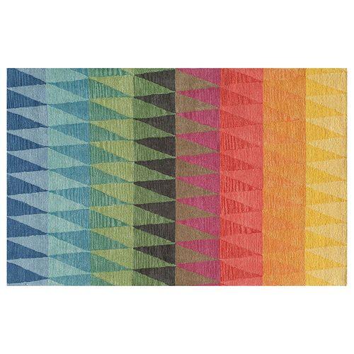 Momeni Delhi Triangle Geometric Wool Rug