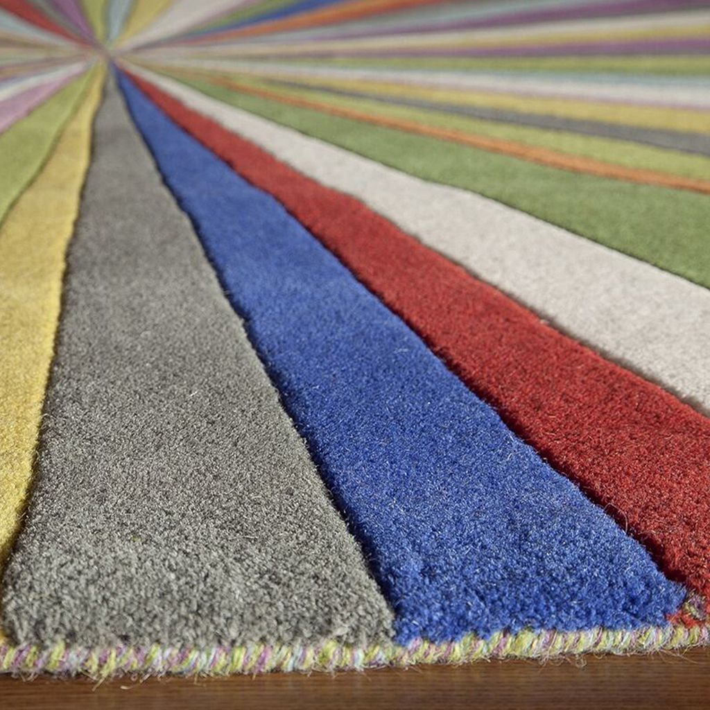 Momeni Delhi Optic Striped Wool Rug