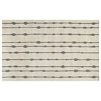 Momeni Delhi Bead Striped Wool Rug