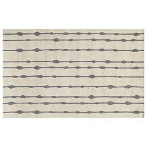 Momeni Delhi Bead Striped Wool Rug