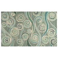 Momeni Dunes Wind Scroll Wool Rug