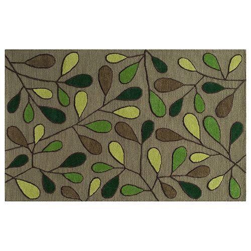 Momeni Dunes Leaf Wool Rug