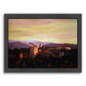 Americanflat Alhambra Granada, Spain Framed Wall Art