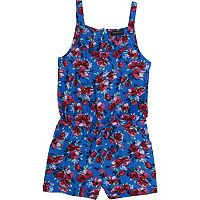 Girls 4-6x French Toast Printed Romper