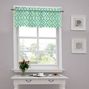 Traditions by Waverly Waves Tailored Window Valance