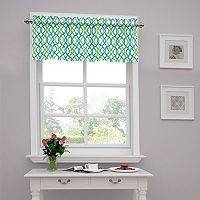 Traditions by Waverly Waves Tailored Valance