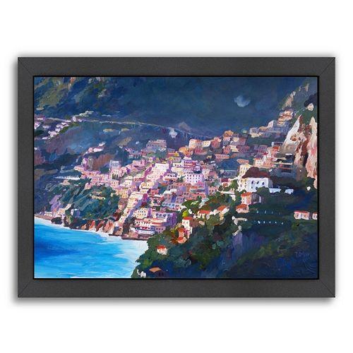 Americanflat Amalfi Coast I Framed Wall Art