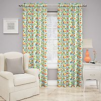 Traditions by Waverly Set In Spring Floral Curtain