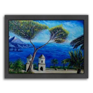 Americanflat Amalfi Coast II Framed Wall Art