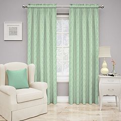Traditions by Waverly 1-Panel Strands Window Curtain