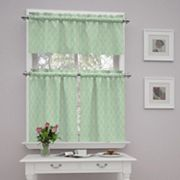 Traditions By Waverly Strands Tier Amp Valance Kitchen