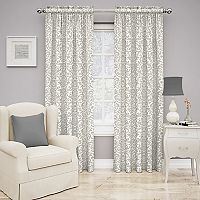 Traditions by Waverly Duncan Damask Window Curtain