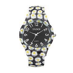 Studio Time Women's Daisy Cuff Watch