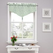 Traditions by Waverly Duncan Damask Window Valance