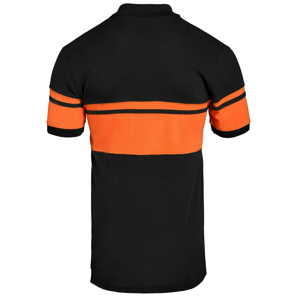 Men's Baltimore Orioles Striped Polo