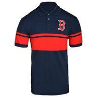 Men's Boston Red Sox Striped Polo