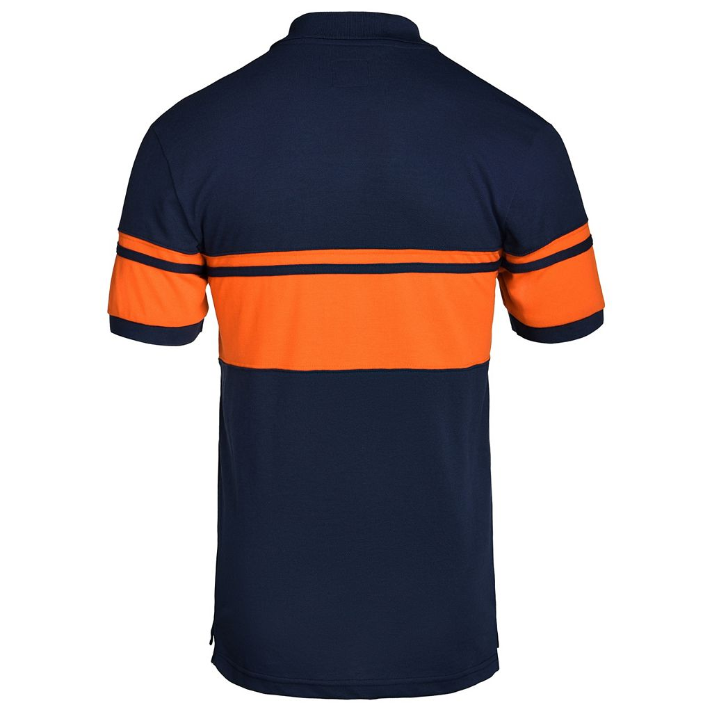 Men's Detroit Tigers Striped Polo