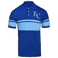 Men's Kansas City Royals Striped Polo