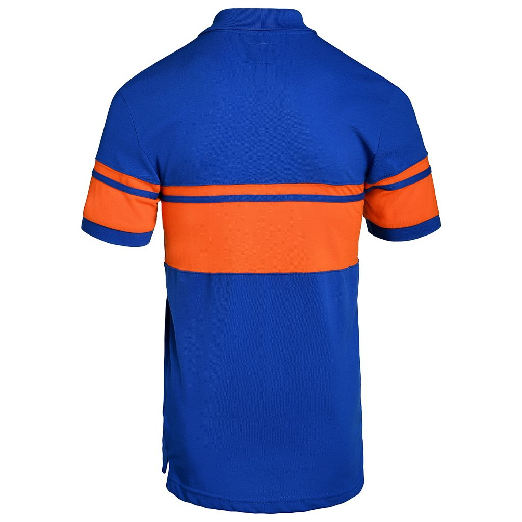 Men's New York Mets Striped Polo