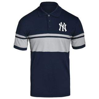 Men's New York Yankees Striped Polo