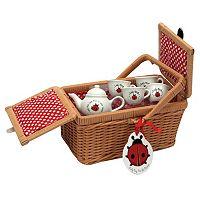 Schylling Ladybug Tea Set & Basket