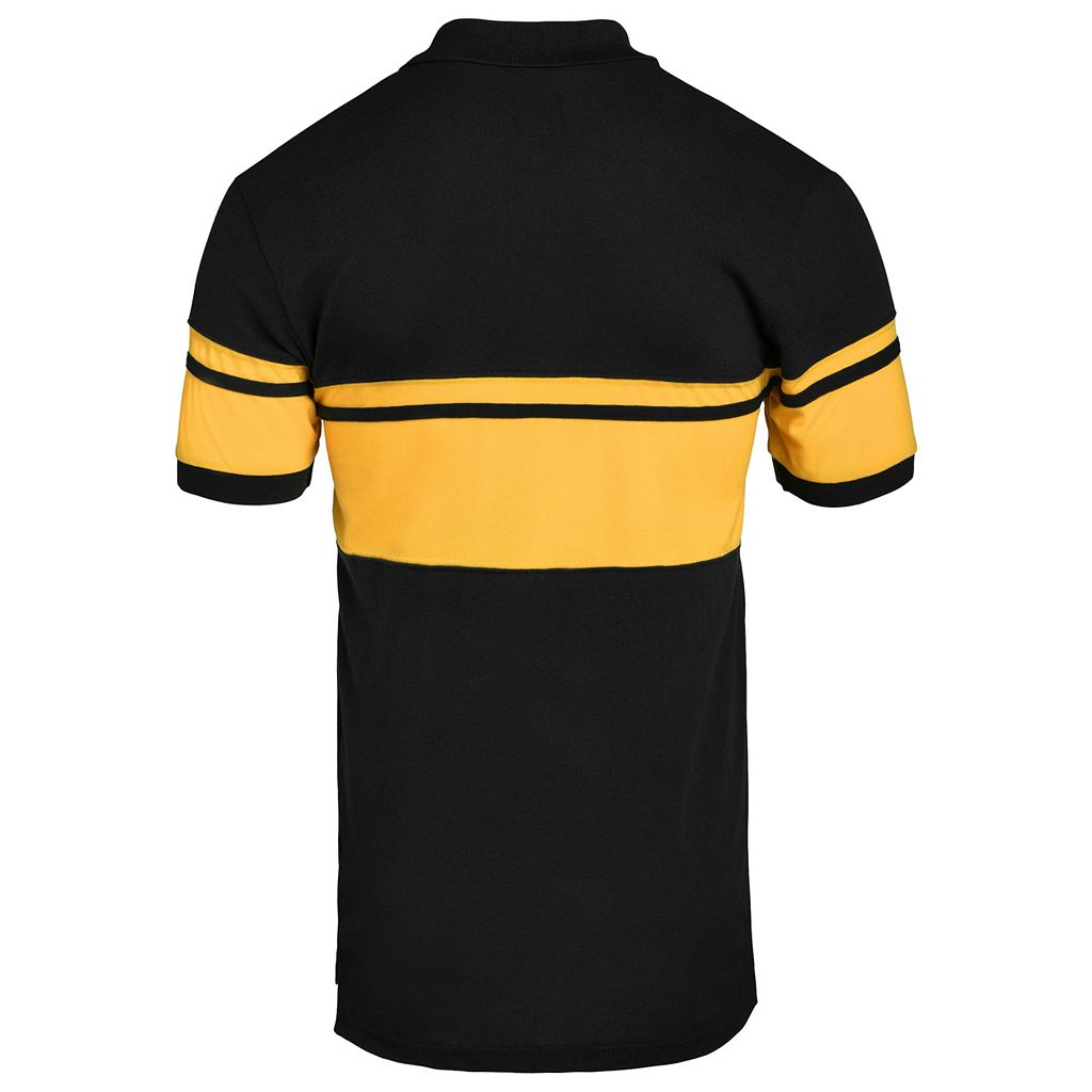 Men's Pittsburgh Pirates Striped Polo