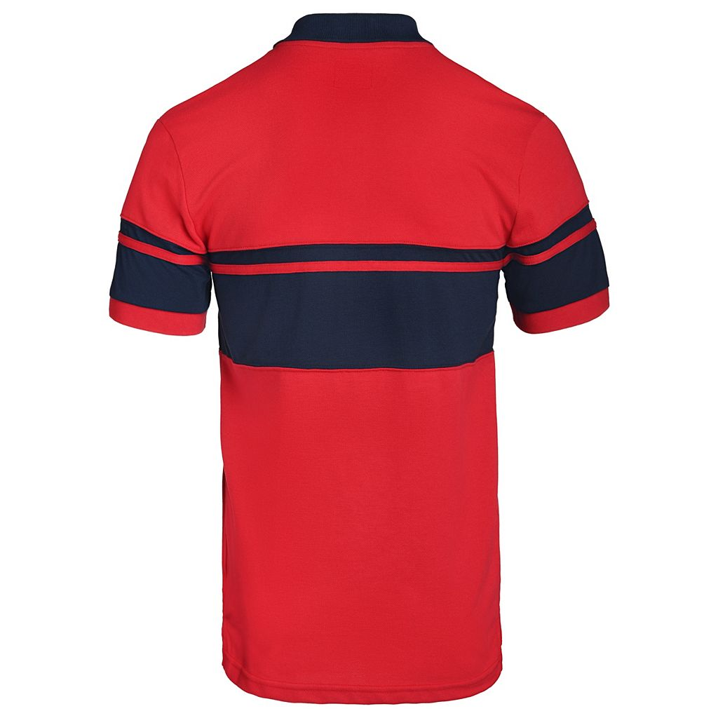 Men's St. Louis Cardinals Striped Polo