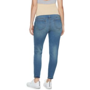 Maternity a:glow Belly Panel Cropped Jeggings