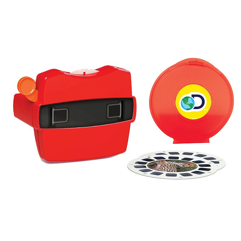 Viewmaster Boxed Set Watch amazing 3D images come to life right before your eyes with this Viewmaster Boxed Set. 3 reels with 21 3D images Set comes with storage case 6 H x 3 W x 10 D Age: 3 years & up Imported Model no. 2036  Size: One Size. Color: Multicolor. Gender: unisex. Age Group: kids.