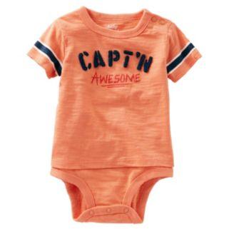 Baby Boy OshKosh B'gosh® Mock-Layered Bodysuit